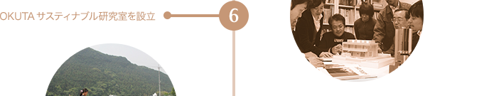 6 OKUTAサスティナブル研究室を設立