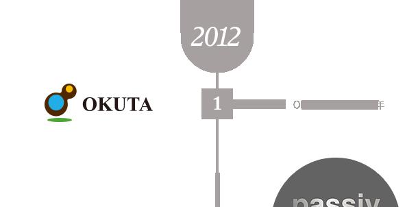 2012 1 OKUTA設立満20周年